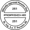 Officially approved Porsche Club 251
